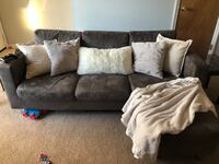 Small grey sectional Jacksonville, 28546