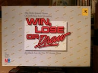 Win Loose or Draw board game  Vaughan, L4L