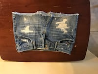 blue denim mini skirt Sun City, 85373