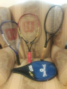 Tennis and Racquetball rackets