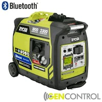 yellow and black Ryobi portable generator Pinole