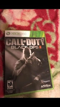 Call of Duty Black Ops 2 Xbox 360 game case