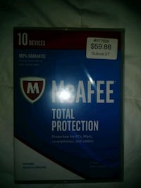 Mcafee total protection Parkersburg, 26104