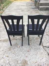 Black kitchen/dining chairs Kettering, 45420