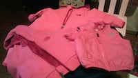 3 PC set North Face BABY Snow suit, jacket, vest  Baltimore, 21223