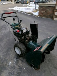 Craftsman big snow blower 11 horsepower and 31 inch  Toronto