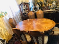 Dining table with 6 chairs  Toronto, M2R 3N1