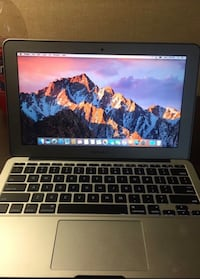 MacBook Air early 2015 . 1.6GHz intel core i5 processor . 8GB DDR3 Ram . 256GB Storage . 55 km