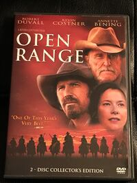 Open Range 2-Disc Collector's Edition (Still factory sealed).