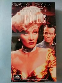 The Spoilers vhs