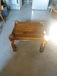 brown wooden 2-tier table Sherbrooke, J1C 0A1