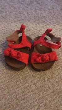 Never Worn New Born Red Sandals. Waldorf, 20601