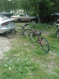 two assorted bikes Brownfield, 04010