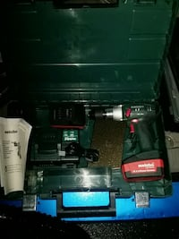 Metabo cordless power drill made in Germany.  3725 km