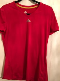 Pink and white adidas shirts  Laval, H7P 5E4