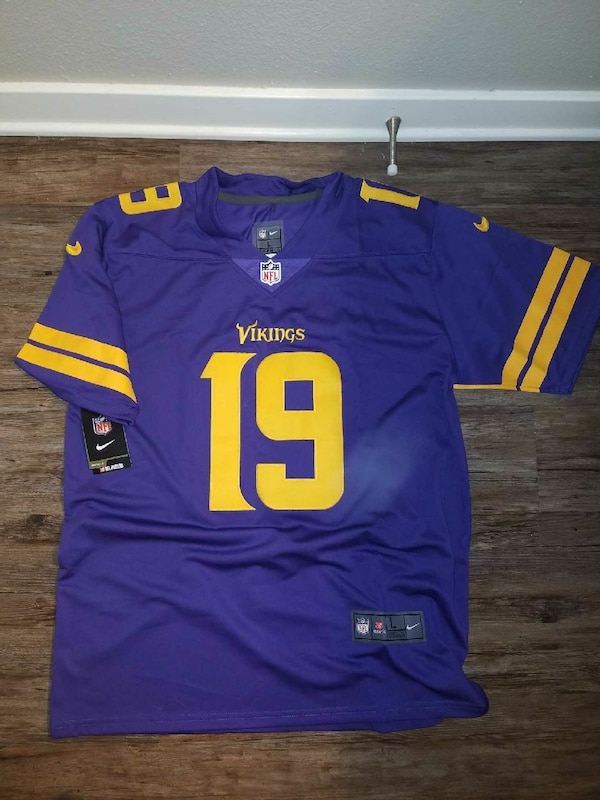 new styles 10f98 d2d88 Minnesota Vikings Adam Thielen Color Rush Jersey