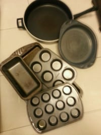 Baking set and pan