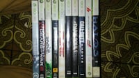 assorted Xbox 360 game cases Tonopah, 89049
