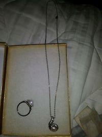 Necklace and ring set Dundalk