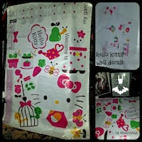 Brand new removable hello Kitty my garden decals