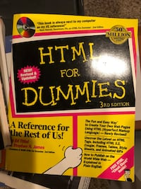 New book HTML for dummies with CD Brooklyn, 21225