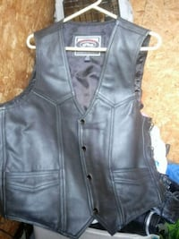 Chaps(jacket) Brand- River road Medium. (Pants) brand- Diamond plate