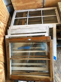 Old Windows. Great for creative projects   Virginia Beach, 23457