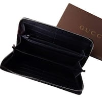 black leather bi-fold wallet Mc Lean, 22102
