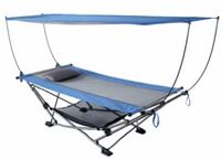 Mac Sports Folding Hammock with Removable Canopy Hoover, 35226