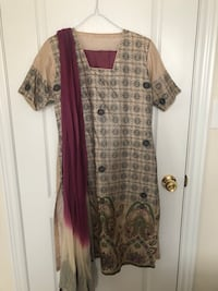 Reduced Price! Indian Suit with Pants & Dupatta  Markham, L3R
