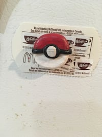 Pokeball polymer clay magnet St Catharines, L2N