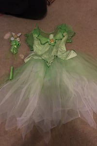 Tinker Bell Costume with wand Haymarket, 20169