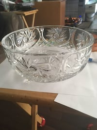Cut Crystal Bowl  Calgary, T2A