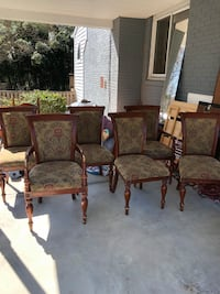6 Dining room Chairs Bethesda, 20814