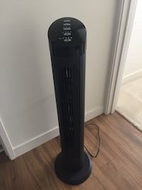 "Tower fan 40"" swivel with remote"
