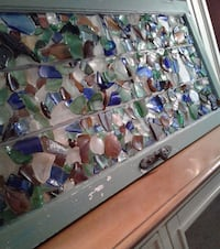 Handmade decorative glass window EGGHARBORTOWNSHIP