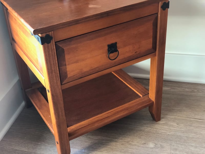 Cherrywood Side Table  3765827d-dc61-4f83-8c6a-e9030655897a