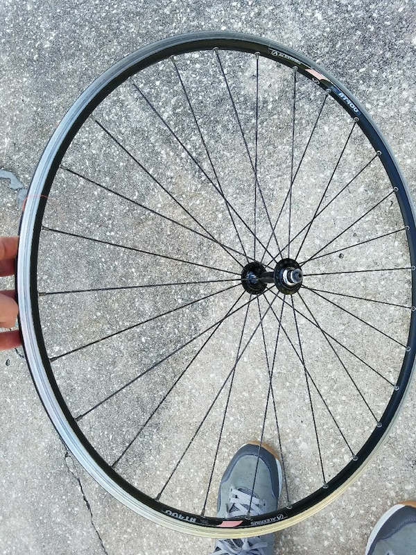 Used Alexrims At400 Road Bike Wheelset 1 For Parts For Sale In