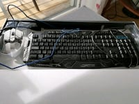 Gaming keyboard og mouse Bergen, 5131