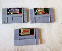 Super Nintendo games  Surrey, V3W 2A1