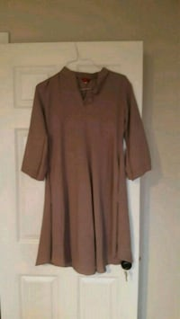 women's brown long-sleeved dress Mississauga, L5L 1R3