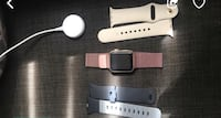 Iwatch 3 series with its charger and 3 bracelets great condition.  Los Angeles, 91335