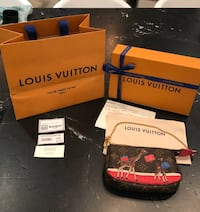 Brand New Ltd. Edition Louis Vuitton Animation Xmas Mini Pochette Puslinch, N1H