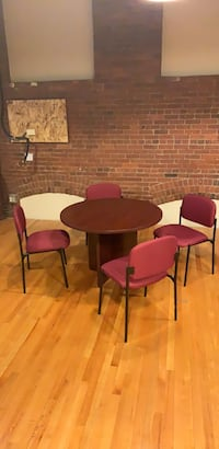 office style round table and four chairs Boston, 02114