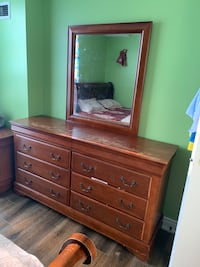 Hardwood Dressing Table for sale for $80OBO pickup only