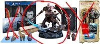 God of War Statue only PS4 Delta