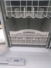 White dishwasher new