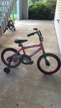 toddler's red and black bicycle Greer, 29650