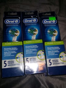 ORAL-B REPLACEMENT BRUSH HEADS