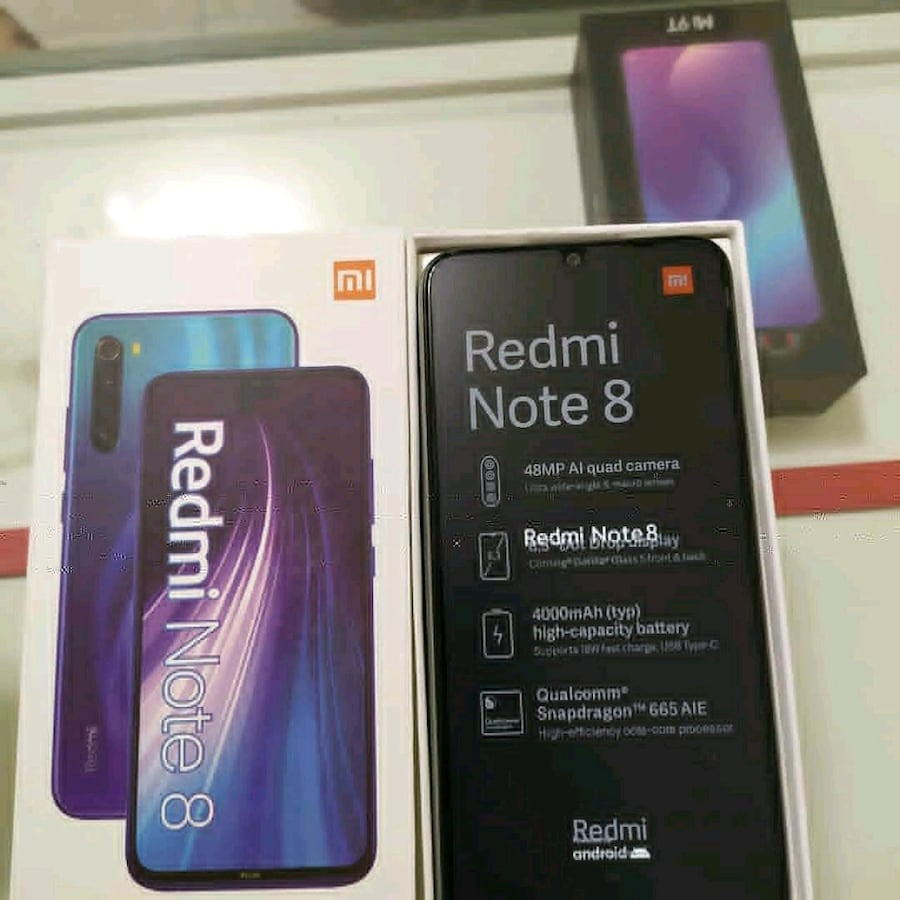Redmi note 8    global versiyon.